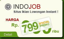 IndoJob - Situs Instant Lowongan Pekerjaan