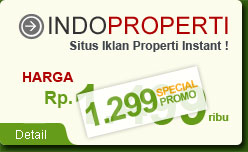 IndoProperti - Situs iklan baris khusus untuk properti