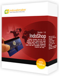 IndoShop Website Instant Toko Online
