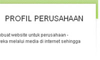 fitur web instant indocompany: profile perusahaan