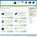Template IndoShop - Website Instant Toko Online Biru