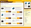 Template IndoShop - Website Instant Toko Online Orange